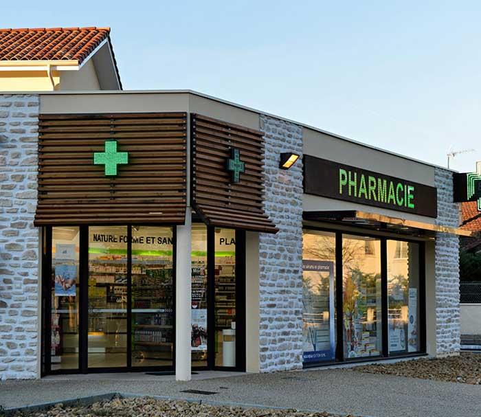 Pharmacie, Saint-Pierre du Mont